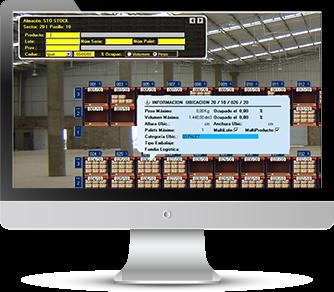 AS-SGA Software de gestión de Almacenes