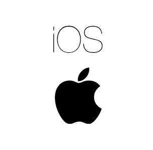 ios logo black