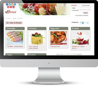 Página web Portal Corporativo