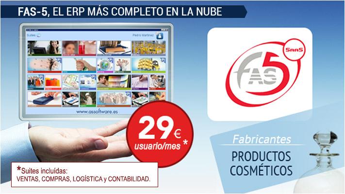 FAS-5 productos cosmeticos