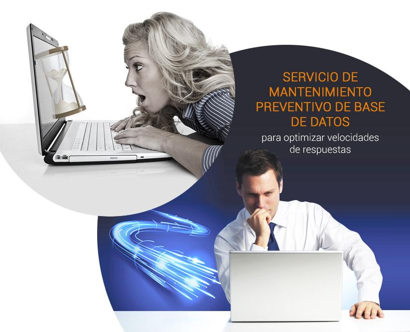 servicio de mantenimiento preventivo de BBDD