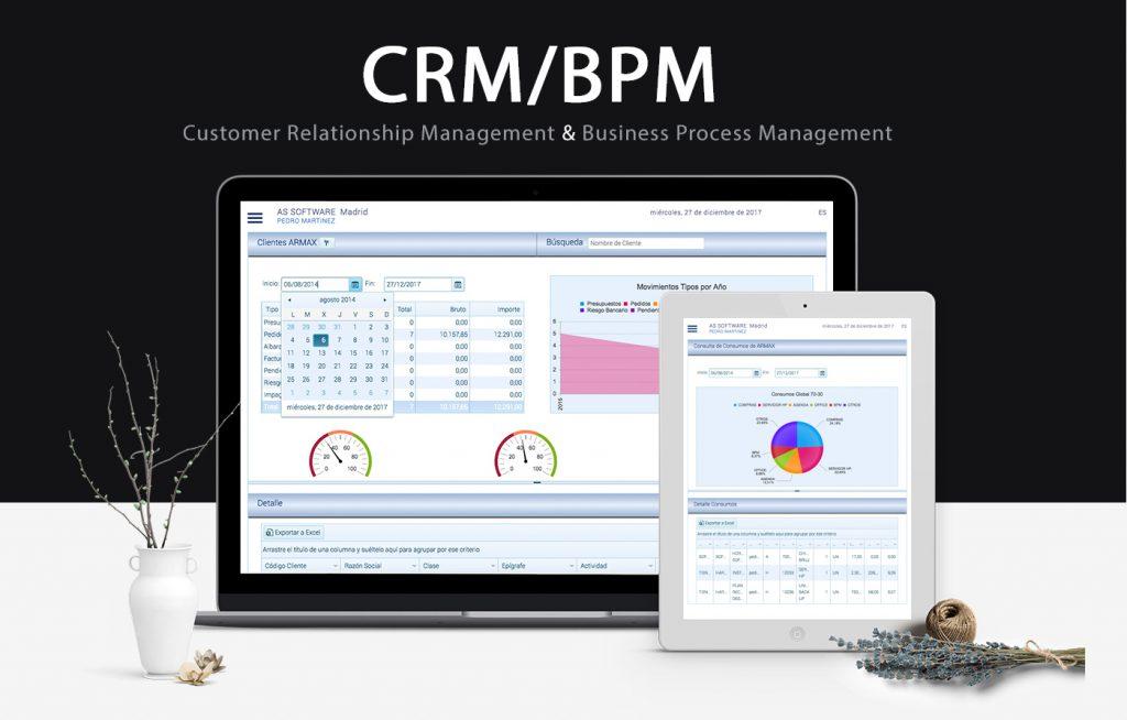 suite de agentes CRM BPM
