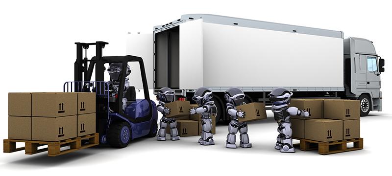 Robótica en sector logística