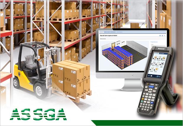 Almacén optimizado AS SGA